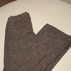Forever 21 size 26 wide leg grey and white pants
